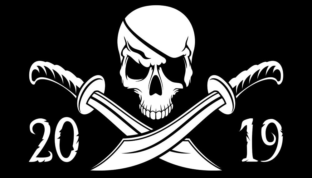 T-Shirt Skull & Bones 2019 | Great Master Official Website